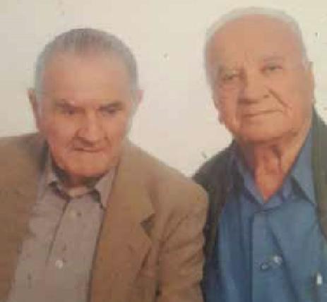 Foto nga takimi me Hajdar Haxhihysenin (majtas